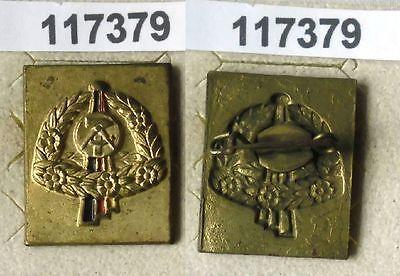 Seltenes DDR Blech Abzeichen mit Erntekranz (117379)