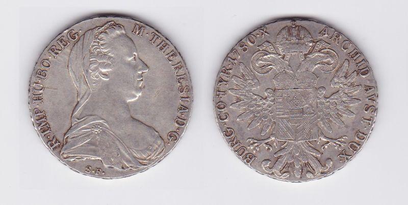 1 Taler Silbermünze Österreich Habsburg RDR 1780 S.F. (117104)