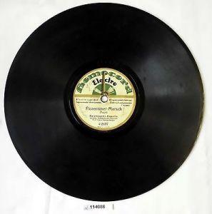 114088 Schellackplatte Homocord
