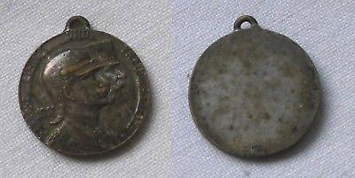 Silber Medaille Einig und Treu Franz Joseph I und Wilhelm II 1911 (111440)