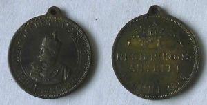 Bronze Medaille Wilhelm II deutscher Kaiser Regierungsantritt 1888 (115156)