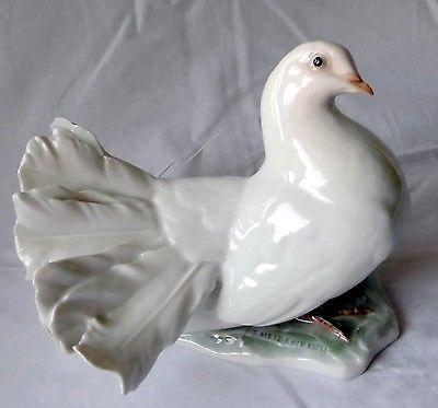 Seltene alte Porzellan Figur Rosenthal Kunstabteilung Taube (106990)