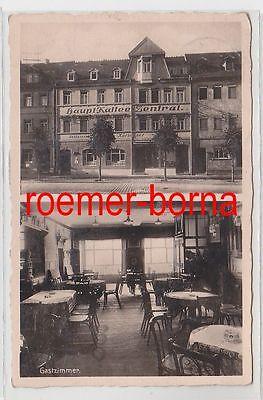 83161 Mehrbild Ak Ronneburg Thür. Haupt-Kaffee Zentral 1936