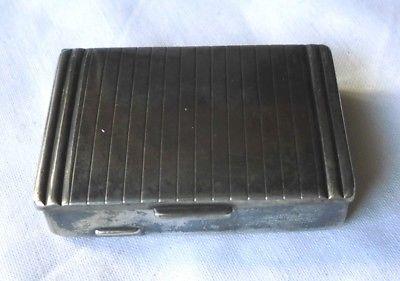 Hübsche kleine Dose Pillendose Schachtel Hersteller Lutz und Weiß LW (108173)
