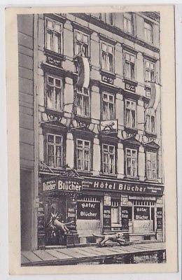 35203 AK Leipzig - Hotel Blücher, Bes. Richard Penndorf anlässlich der Löwenjagd