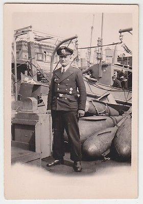 70964 Original Foto Marine Offizier mit Orden im 2.Weltkrieg
