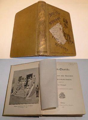 Deutsch-Ostafrika - Das Land und seine Bewohner, Verlag Spamer 1892 (Nr.3700)