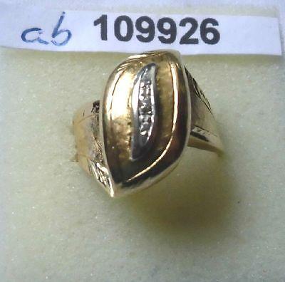 Hochwertiger Damenring 750er Gold mit 3 kleinen Diamanten (109926)