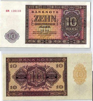 10 Mark Banknote DDR Deutsche Notenbank 1955 kassenfrisch (124003)