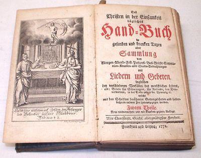 Des Christen in der Einsamkeit taegliches Hand- Buch 1772