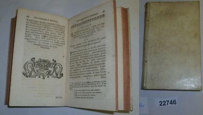 De praestantia classicorum auctorum commentatio, Buch von 1735