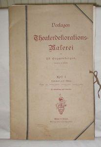 Vorlagen zur Theaterdekorations Malerei um 1920