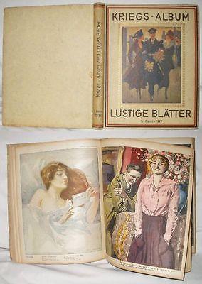 Kriegs-Album der Lustigen Blaetter 6. Band 1917