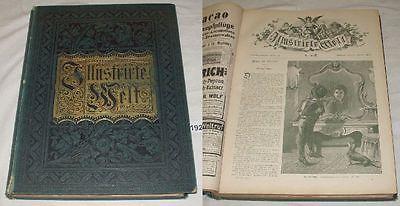 Illustrirte Welt - Deutsches Familienbuch - Blätter aus Natur und Leben 1895