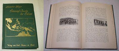 Smaragdinseln der Südsee-Reiseeindruecke und Plaudereien, Verlag E.Straus um1900