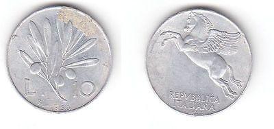 10 Lire Aluminium Münze Italien 1950 R 116360 Nr 232605237995