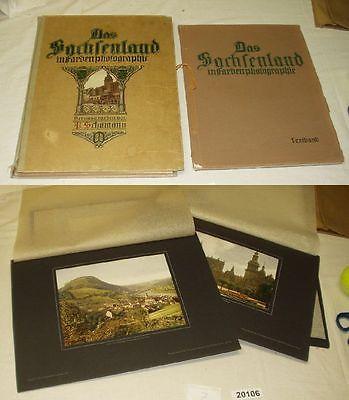 Deutschland in Farbenphotographie - Band III, Verlag Carl Weller 1916