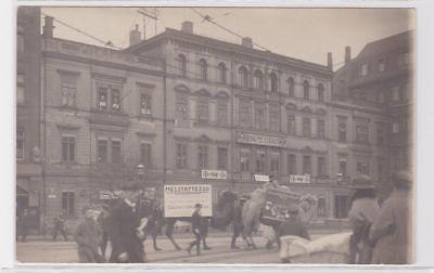 88475 Foto Ak Leipzig Tröndlin Ring, Ring Messehaus um 1920