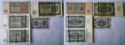 5 Banknoten Deutsche Notenbank DDR 1948 (123553)