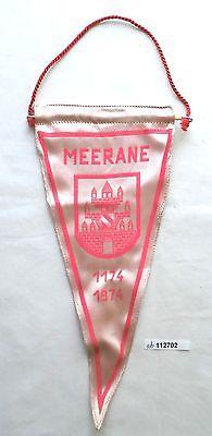 Seltener DDR Wimpel 800 Jahre Weberstadt Meerane 1174-1974 (112702) 0