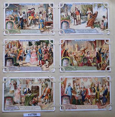 Liebigbilder Serie 899, Christoph Willibald Gluck, 1914-1917 (K117700)