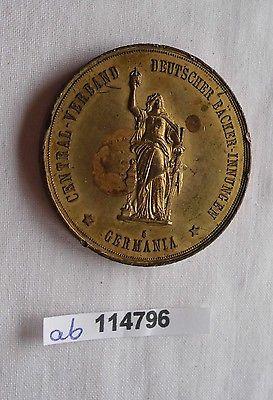 Medaille Zentral Verband Deutscher Bäcker Innungen Germania 1899 (114796)