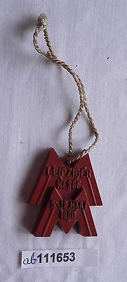 Abzeichen Leipziger Frühjahrsmesse 1950 Einkäuferabzeichen (111653)