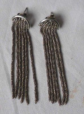 Schöne außergewöhnliche auffällige Ohrringe aus 925er Silber (116527)
