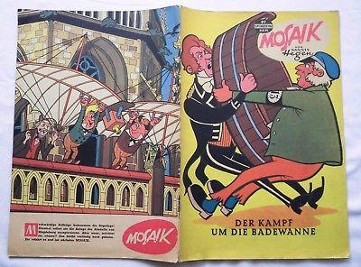 Mosaik von Hannes Hegen Digedag Nummer 82 von 1963 (119526)