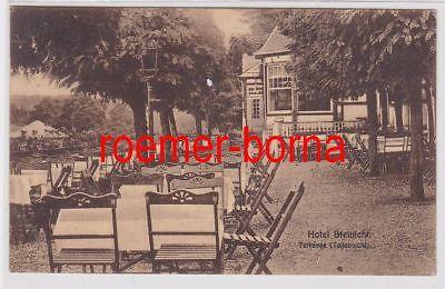 85892 Ak Rentzschmühle Vogtländ. Schweiz Hotel Steinicht 1927