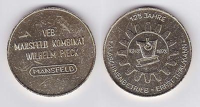 DDR Medaille 125 Jahre Maschinenbetrieb Ernst Thälmann 1848-1973 (117918)