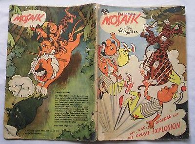 Mosaik von Hannes Hegen Digedag Nummer 7 von 1957 (118821)