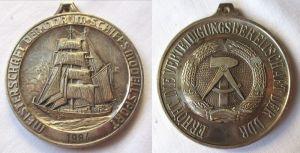 DDR Medaille Meisterschaft der DDR im Schiffsmodellsport 1984 (124171)