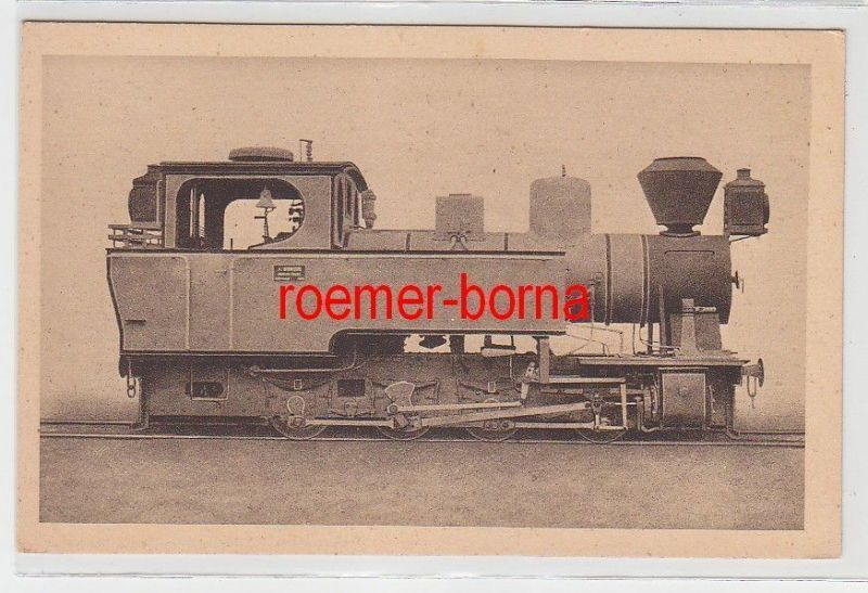 67584 Ak Borsig Berlin Tegel Nußdampf Tenderlokomotive um 1920
