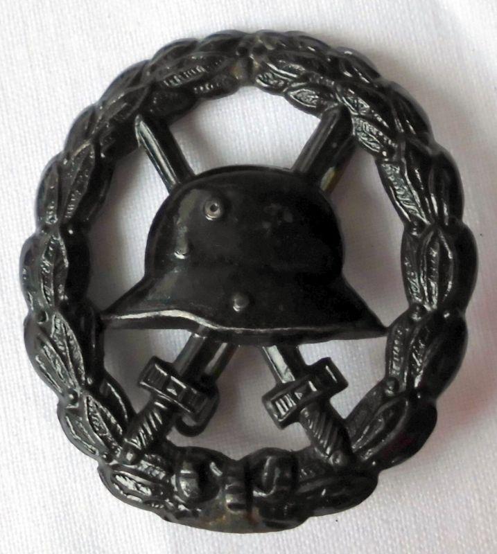 Verwundetenabzeichen Eisen Geschwärzt Für Heer U0026 Kolonialtruppen (124122)