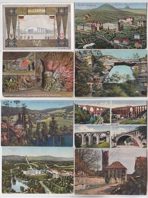 100 interessante alte Ansichtskarten um 1910-1940 (C) (69846)