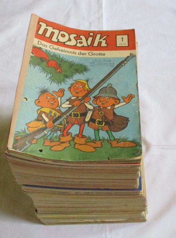 Mosaik Abrafaxe 1/1976 bis 04/1990 komplett 172 Hefte (124731)