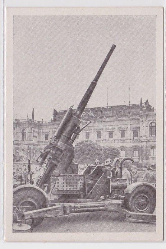 89616 AK Reichsmessestadt Leipzig - erobertes französisches Geschütz um 1940