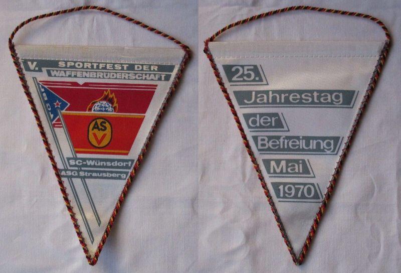 DDR Wimpel Sportfest der Waffenbrüderschaft SC-Wünsdorf ASG Strausberg (113980)