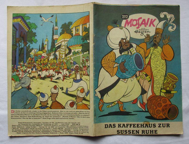 Mosaik von Hannes Hegen Digedag Nummer 212 FEHLDRUCK !!! (112989)