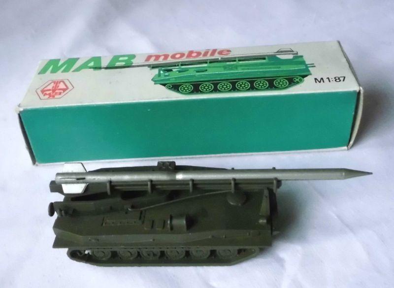 DDR Spielzeug Modell MAB mobile Taktische Rakete + OVP (111391)