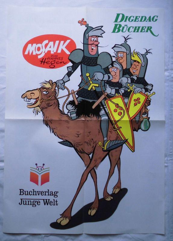 Mosaik Reklame Die Digedags Gesamtverzeichnis 1996 Plakat A 2 Format (114936)