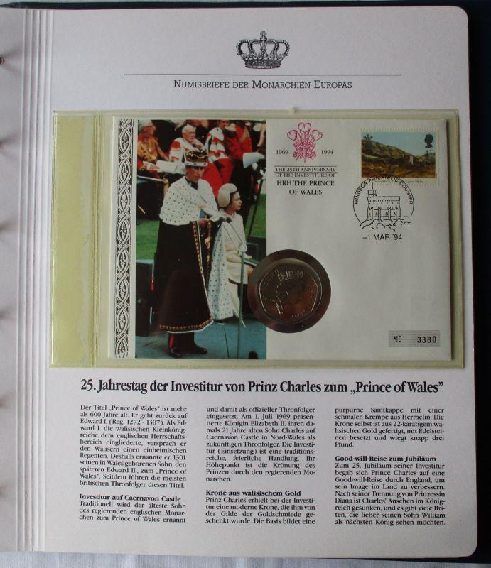 Schöner Numisbrief Großbritannien Mit 50 Pence Münze 1993 112445