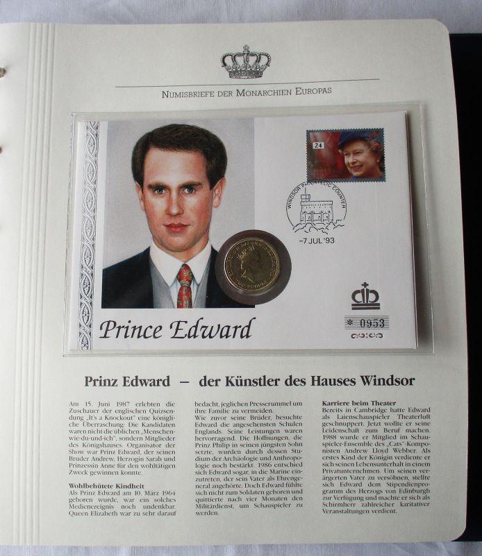 Schöner Numisbrief Großbritannien Mit 2 Pfund Münze 1994 111027 Nr