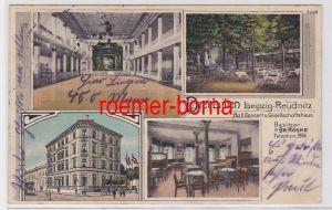 88115 Mehrbild Ak Leipzig Reudnitz Etablissement Drei Lilien 1915