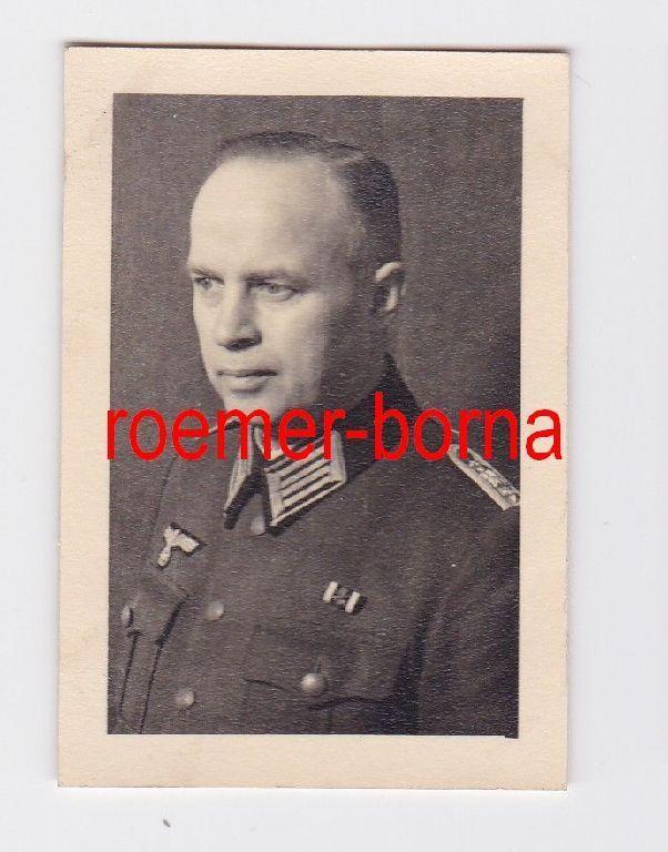 74756 Foto Oberleutnant des Heeres im 2.Weltkrieg