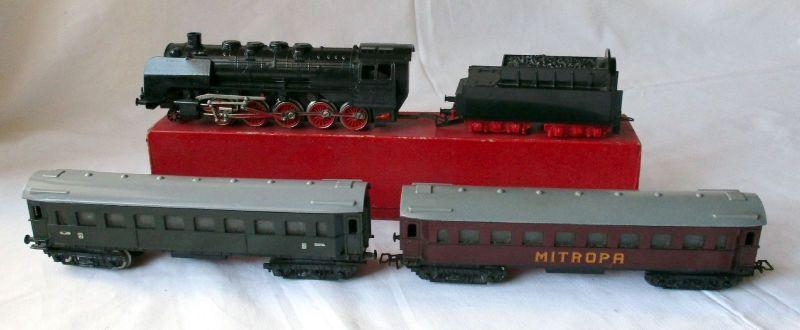 Piko Güterzuglok Baureihe 50 ME 1801 Spur H0 + 2 Waggons MITROPA (113358)