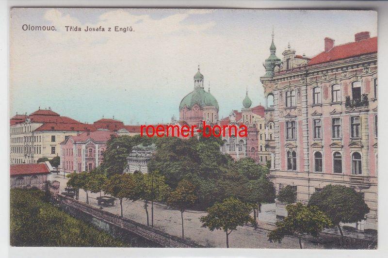 73564 Ak Olomouc Olmütz Trida Josefa z Englü um 1920