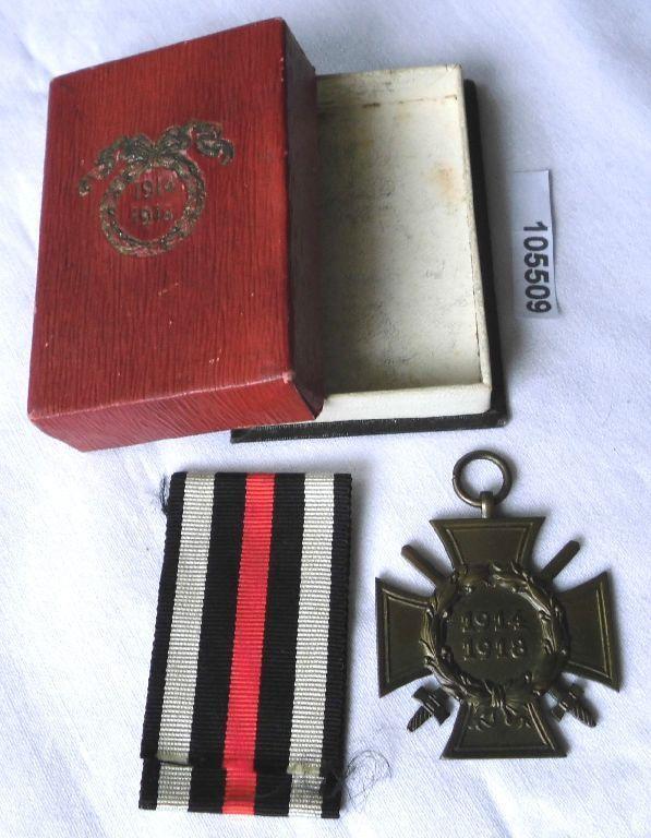 Ehrenkreuz für Frontkämpfer 1914-1918 im Originaletui (105509)