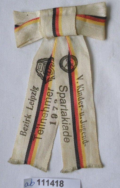 DDR Schleife V.Kinder-& Jugendspartakiade Bezirk Leipzig 1973 (111418)